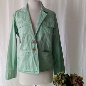 Susquehanna Trail Outfitters STO mint green jacket